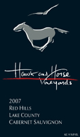 Hawk and Horse Winery Cabernet
