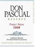 Don Pascual Pinot Noir Reserve